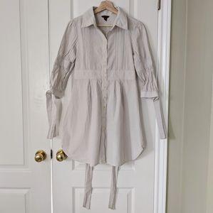 Ted Baker Gingham blouse dress